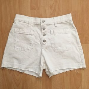 Madewell High Waisted Shorts